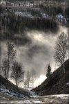 Dimma över älven