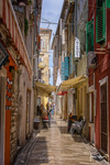 The streets of Zadar