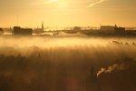 Morgonljus över Stockholm