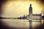 Stadshuset vintage.