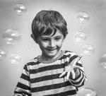 Pojken och bubblorna