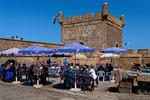 Enkel men populär fiskerestaurang vid Citadellet