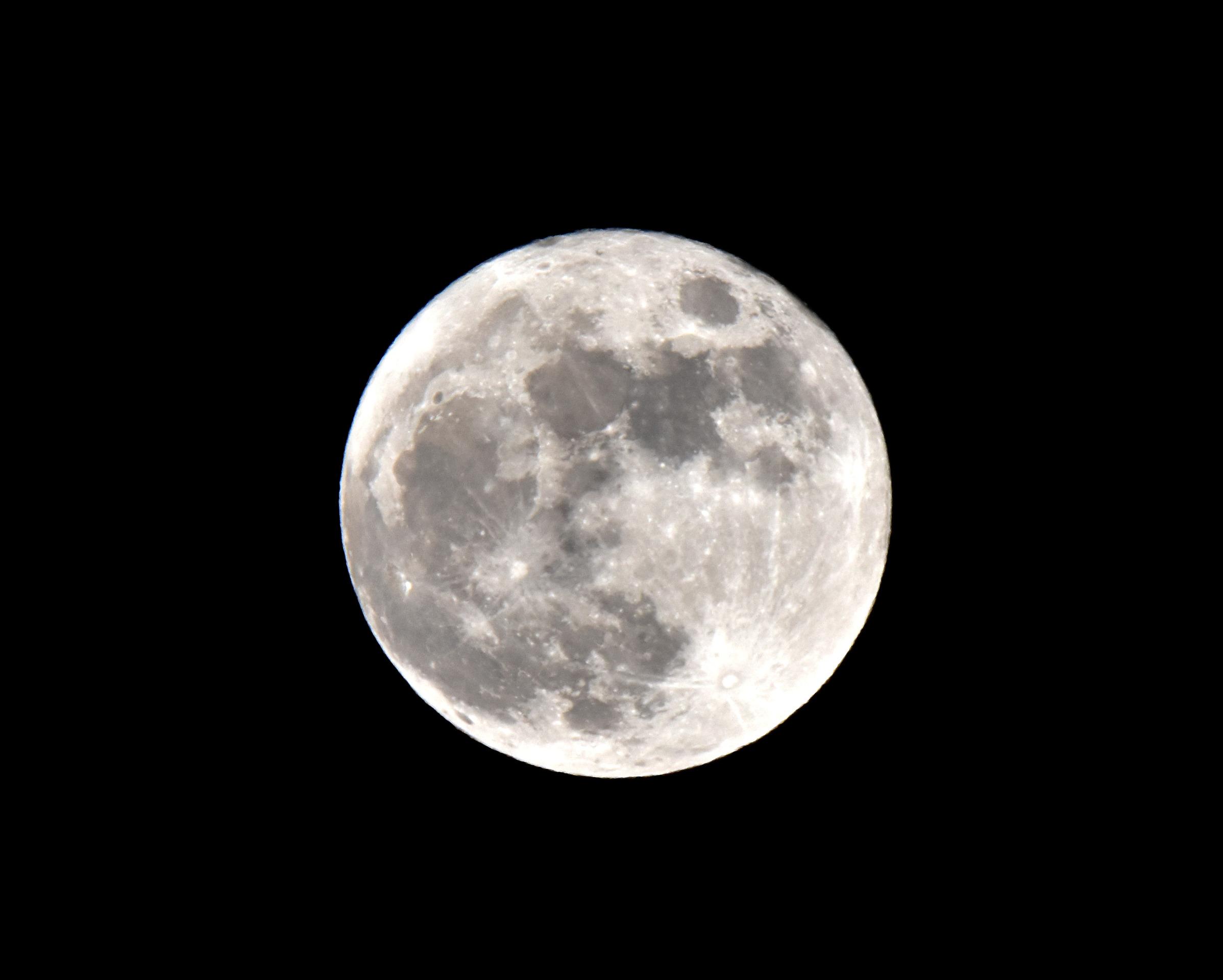 Fullmåne den 12 januari 2017