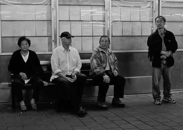 Väntan på tåg
