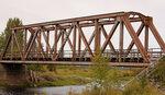 Järnvägsbro nerlagda banan Karungi-Övertoneå