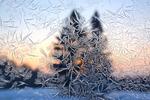 iskall frostig ruta :)
