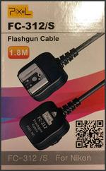 Flasfgun Cable FC-312 /S, for Nikon