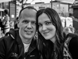 Timo & Katja in black and white_2013-08-21.jpg